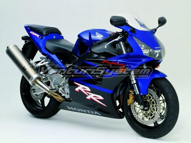2002 Honda CBR 954 RR velocity...